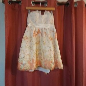 Dani collection dress strapless size large